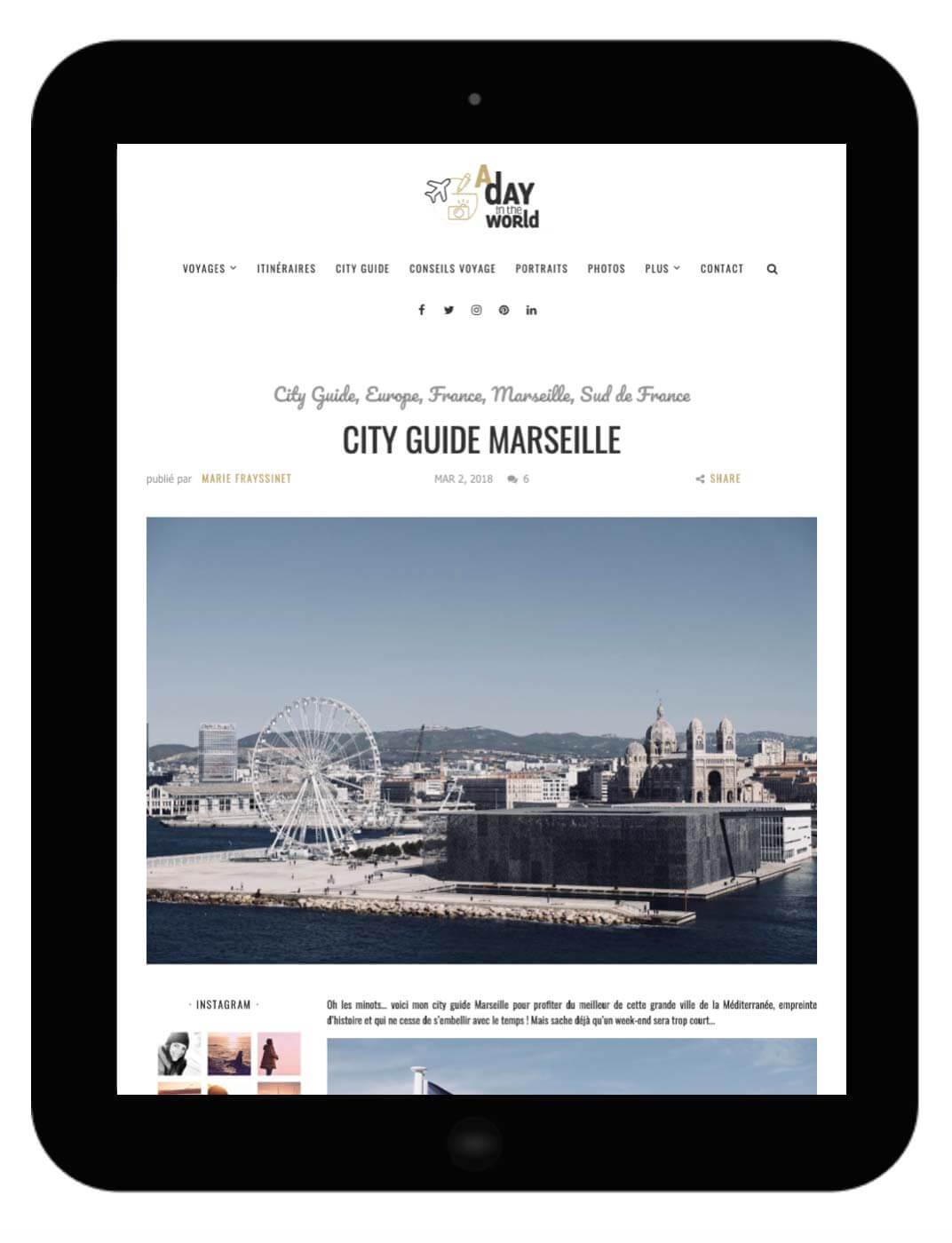 city guide marseille gratuit
