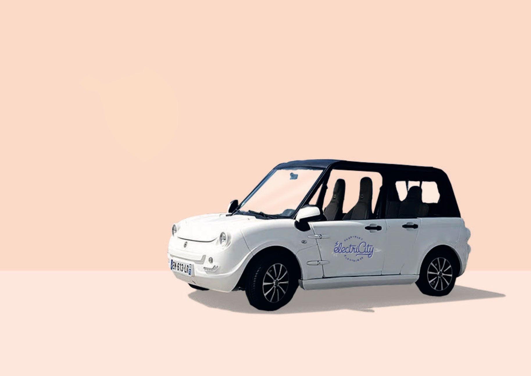Electricity voiture électrique