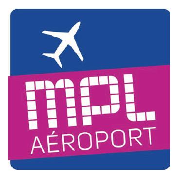 Logo Montpellier Aéroport
