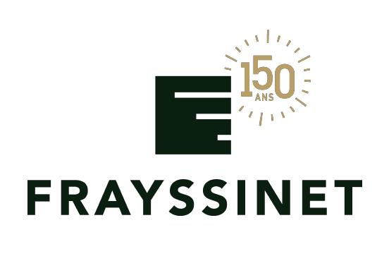 Logo Frayssinet 150 ans