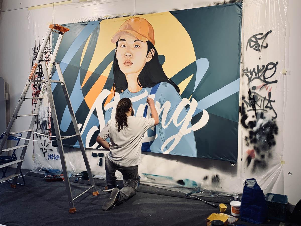 Street art Montpellier - St Ravy