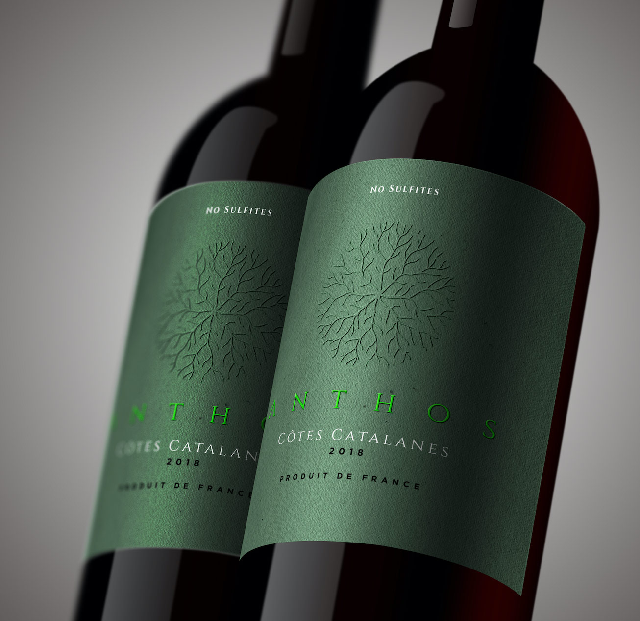 Anthos vin bio Vignerons Catalans