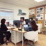 bureau de l'agence Babouche