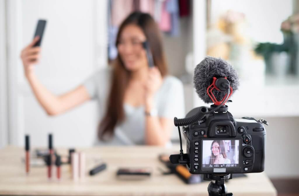 influenceur-vlog-video
